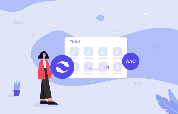 convert tidal to aac